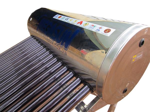 Máy nước nóng ống chân không loại KBS