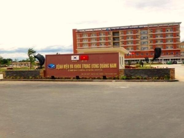 Thảm nhựa bê tông bệnh viện đa khoa Quảng Nam