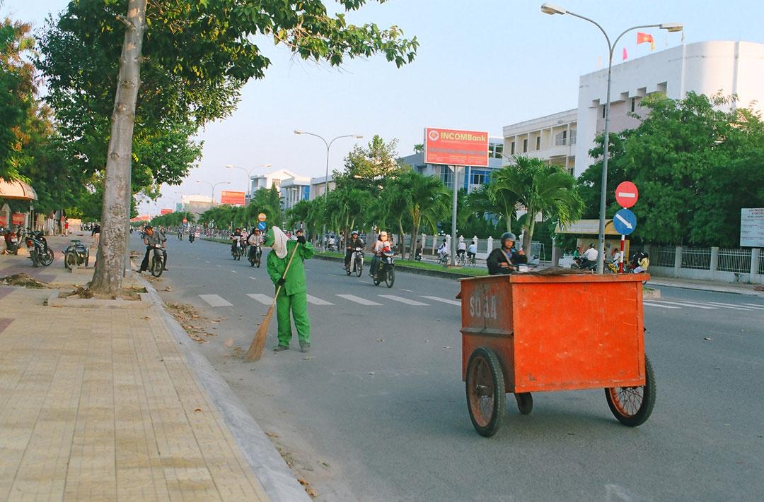Thu gom, vận chuyển rác