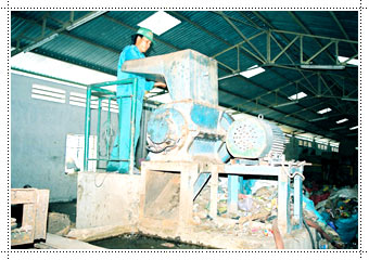 Máy băm nước - dây chuyền sản xuất nhạt nhựa & phôi nhựa