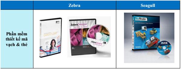 Phần mềm thiết kế mã vạch & thẻ