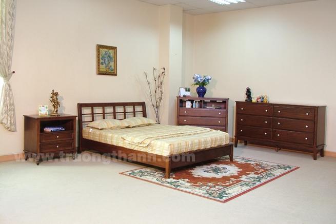 Bộ giường tủ gỗ