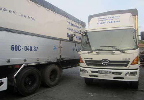 Vận tải đường bộ - Đội xe công ty