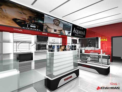 Thiết kế phòng trưng bày