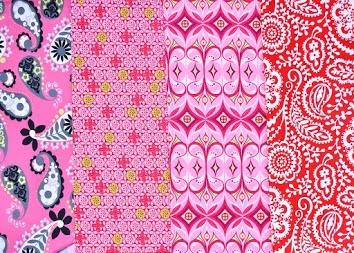 Vải Cotton in hoa