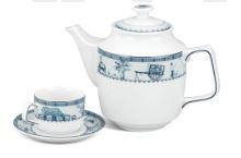 Bộ trà gốm sứ Minh Long