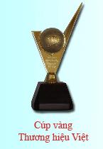Cúp vàng thương hiệu Việt