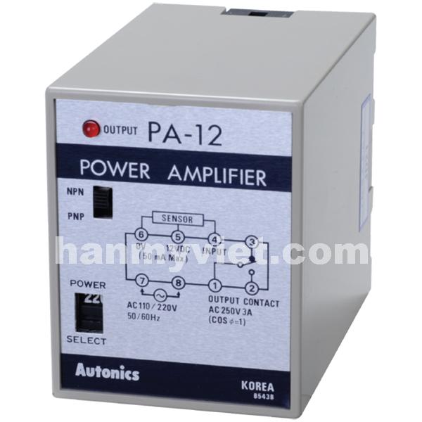 Bộ Nguồn điều khiển sensor PA12