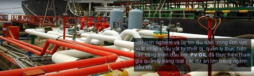 Kinh doanh vật tư thiết bị kỹ thuật dầu khí
