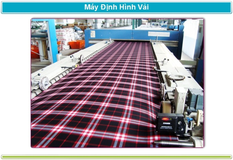 Máy định hình vải