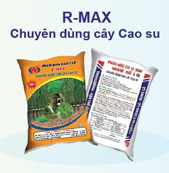 Phân bón R-MAX chuyên dùng cây cao su