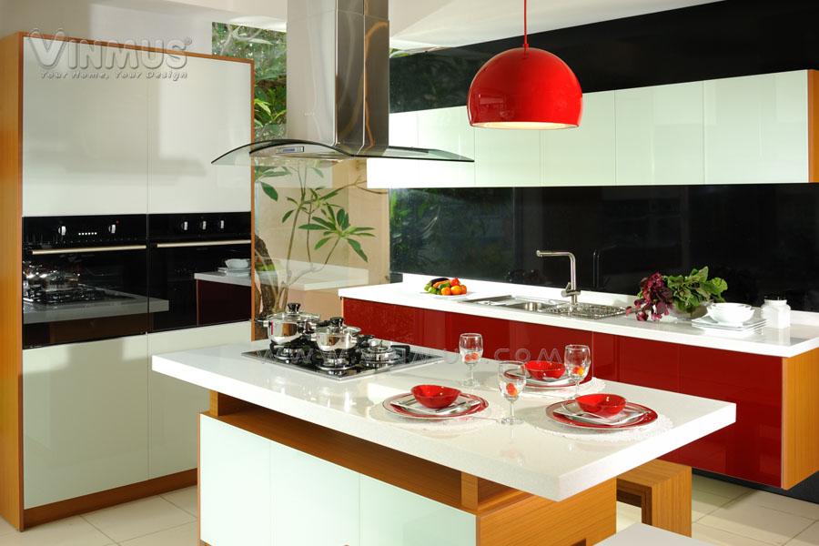 Tủ bếp CRYSTA