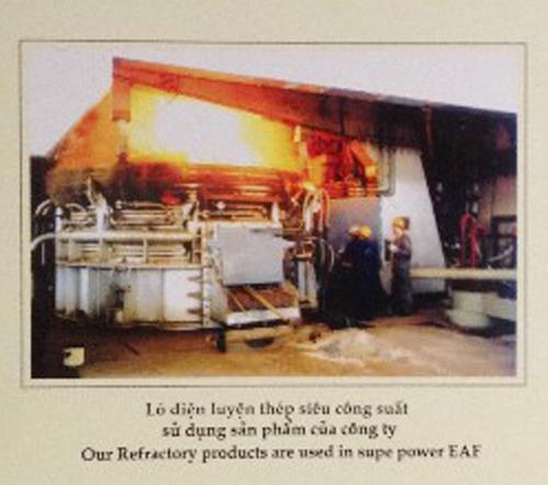 Lò điện luyện thép công suất lớn