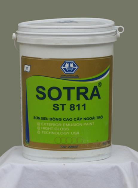 Sơn siêu bóng cao cấp ngoài trời SOTRA ST811