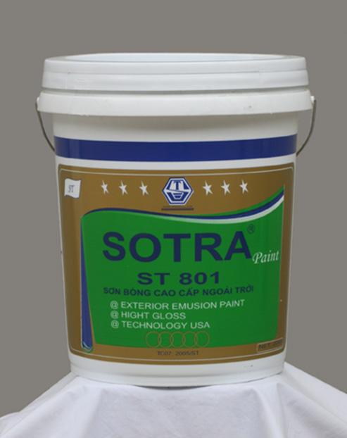 Sơn bóng cao cấp ngoài trời SOTRA ST801