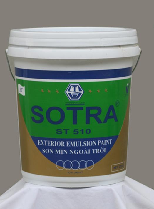 Sơn mịn ngoài trời SOTRA ST510