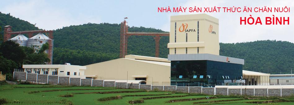 Nhà máy sản xuất thức ăn chăn nuôi Hòa Bình