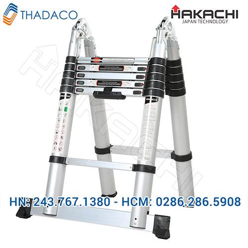 Thang nhôm rút gọn Hakachi HM12