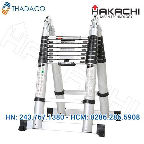Thang nhôm rút gọn Hakachi HM16
