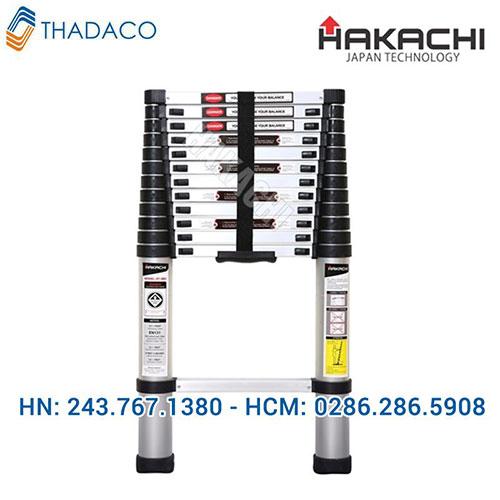 Thang nhôm rút gọn Hakachi HT 380CP
