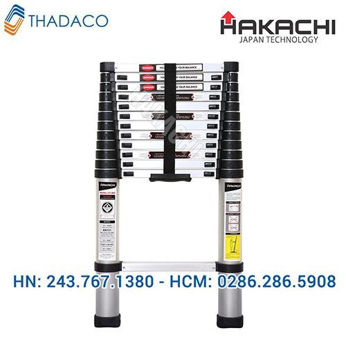 Thang nhôm rút gọn Hakachi HT 380