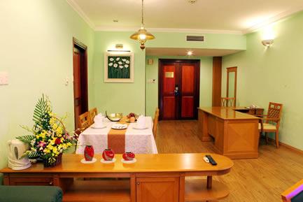 Living room in Suite room