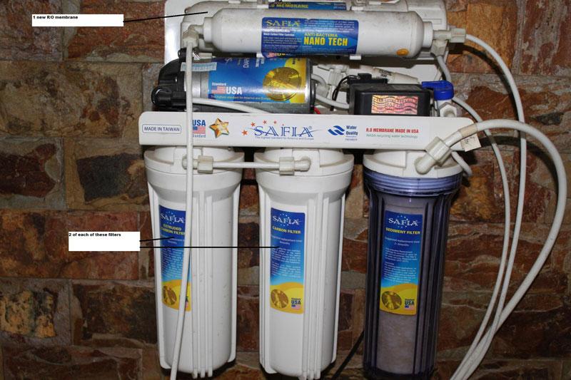 Máy lọc nước Safia
