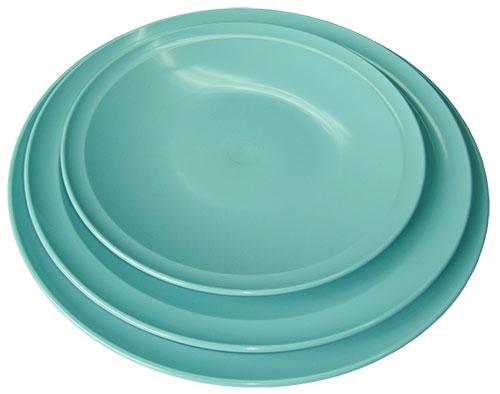 Bộ ba đĩa xanh tròn đẹp