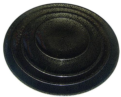 Bộ ba đĩa đen vân mặt lưới