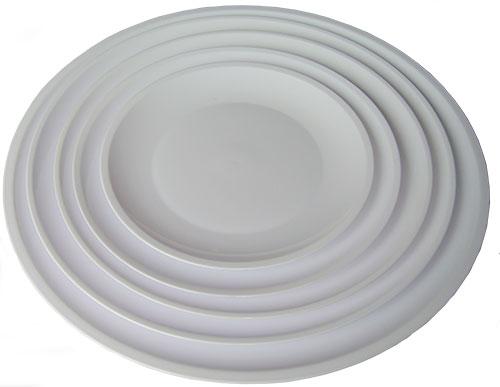 Bộ ba đĩa trắng tròn