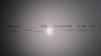 Thép tấm Inox đặc chủng 253MA