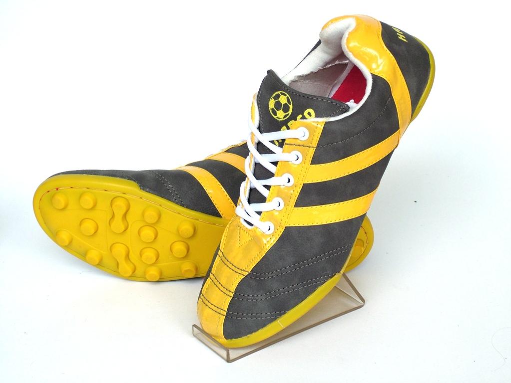 Giầy đinh thể thao mã H868-Vàng đen