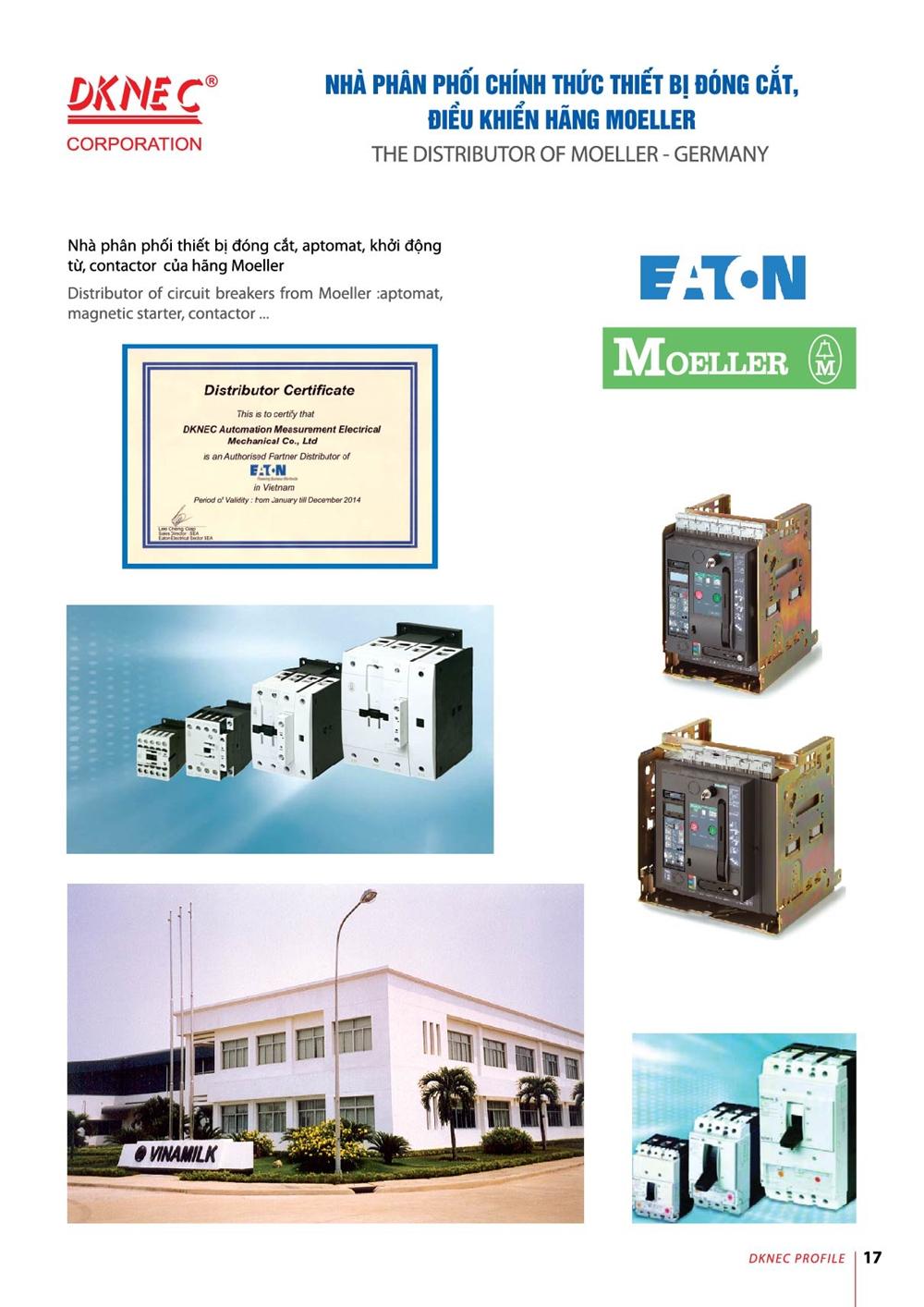 Công Ty TNHH Cơ Điện Đo Lường Tự Động Hóa DKNEC | ở tại Hà Nội