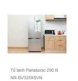 Tủ lạnh Panasonic 290 lít