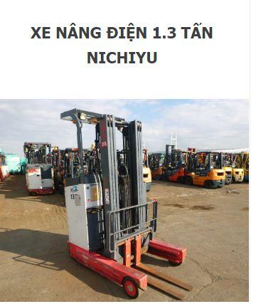 Xe nâng điện Nichiyu