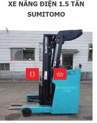 Xe nâng điện Sumimoto