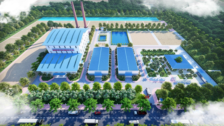 Nhà máy XL rác thải TP Tuy Hòa (Phú Yên)