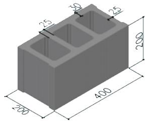 Gạch 3 lỗ A200L3