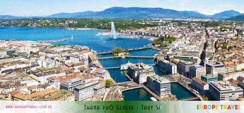 Thành phố Geneve - Thụy Sỹ