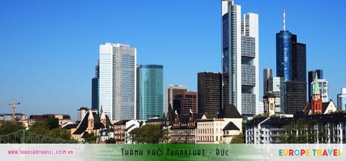 Thành phố Frankfurt - Đức
