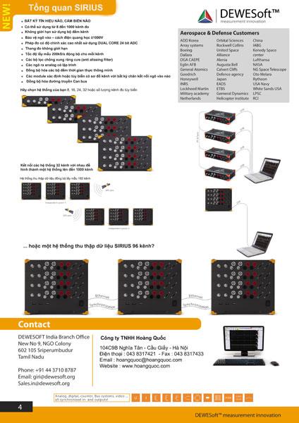 Sản phẩm đo và thu thập dữ liệu hãng DEWESoft-3