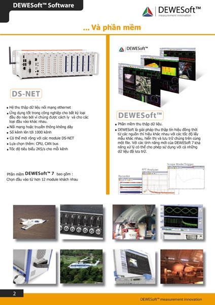 Sản phẩm đo và thu thập dữ liệu hãng DEWESoft-1