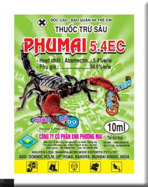 Phumai 5.4EC 10ml ( Bọ cạp)