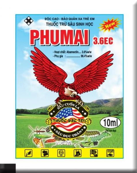 Phumai 3.6EC 10ml ( Đại bàng Đỏ)