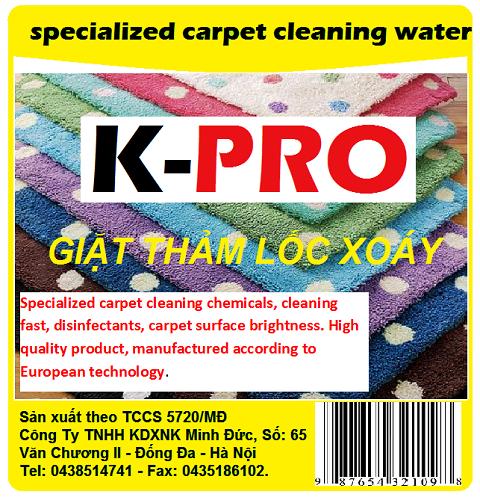 Giặt thảm lốc xoáy