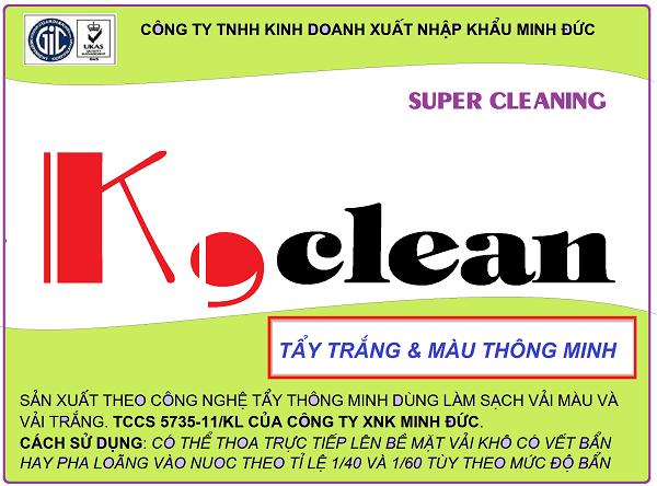 Tẩy K,clean
