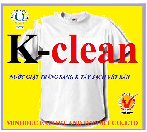 Nước giặt vi sinh K-clean