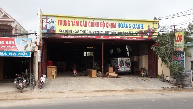 Trung tâm lốp Hoàng Oanh
