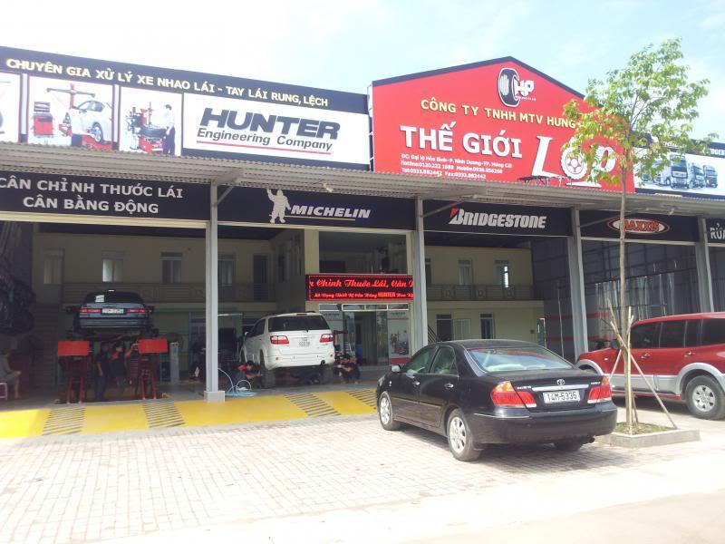 Tiệm lốp Hưng Phát