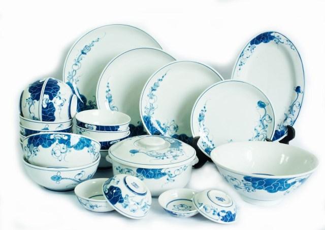Bát đĩa gốm sứ
